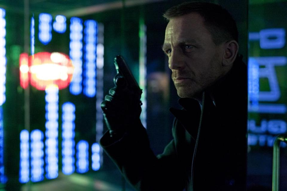 "Daniel Craig is James Bond in ""Skyfall.''"