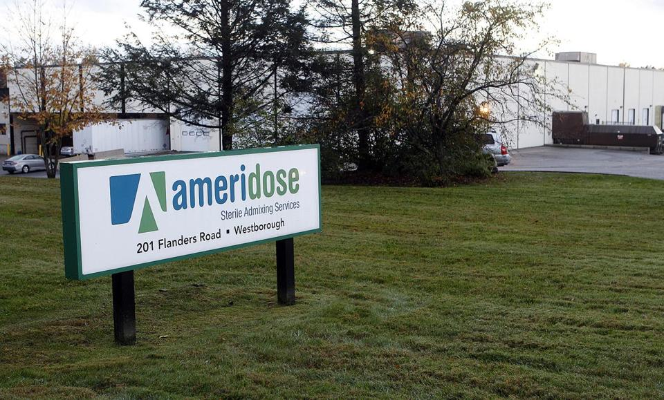 The Ameridose building in Westborough.