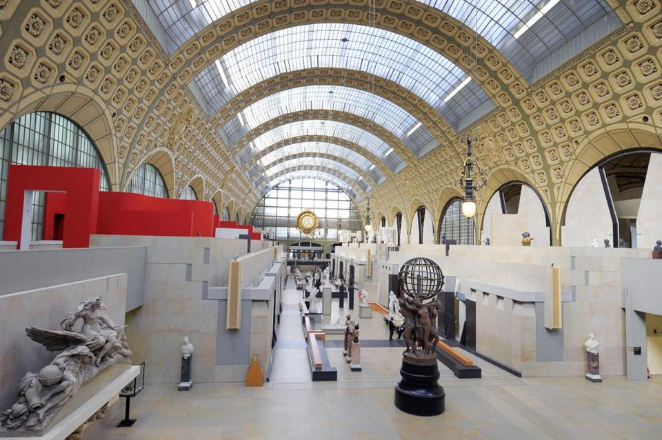 Victor Laloux's original design became the Musee d'Orsay.
