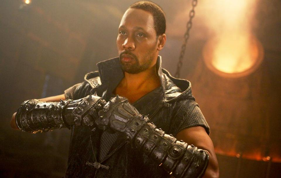 "Rapper RZA stars as the Blacksmith in ""The Man With the Iron Fists."""