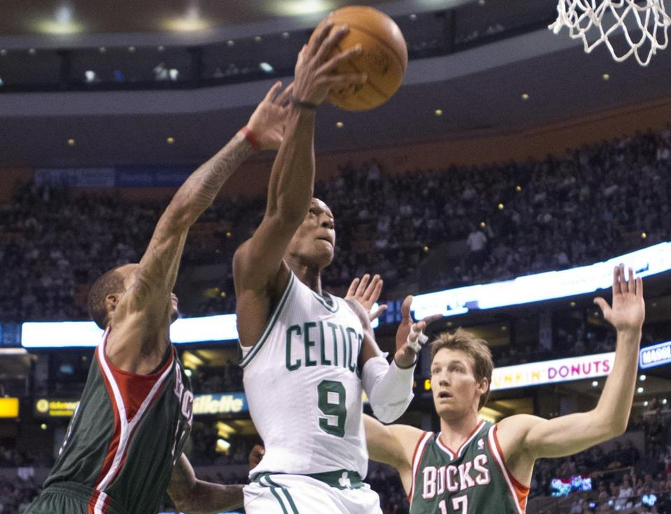 Rajon Rondo had 14 points and 11 assists Friday night against the Bucks.