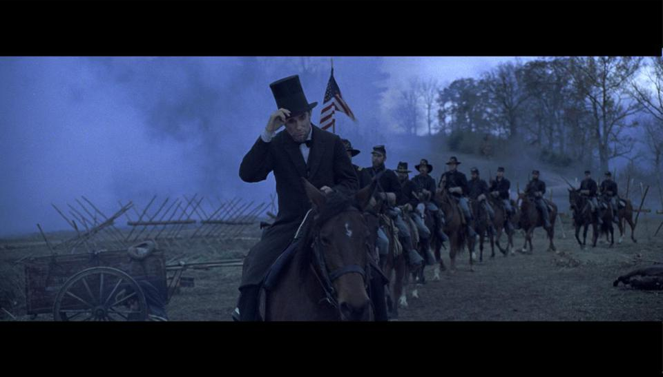 "Daniel Day-Lewis in the title role in ""Lincoln."""