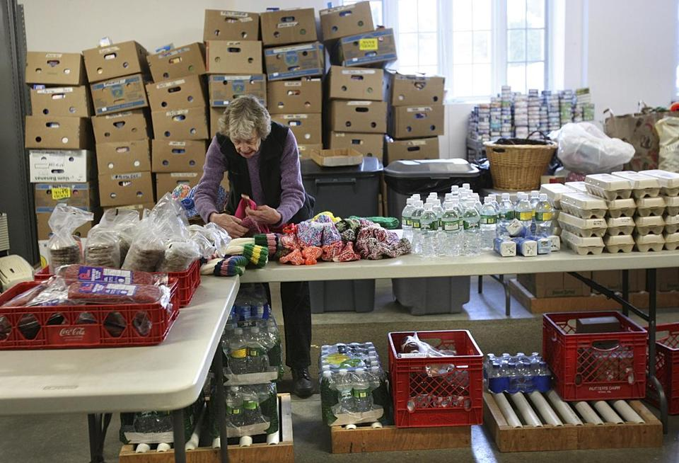 The economy has caused greater need for local food pantries.