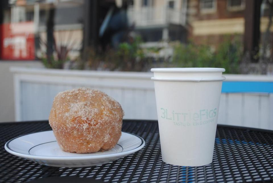 "At 3 Little Figs, the apple cider doughnut muffin is ""a love child of a pastry, if there ever was one.''"