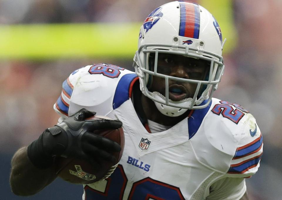 Can New England's rushing defense, tied for seventh in the league, keep C.J. Spiller in check again?