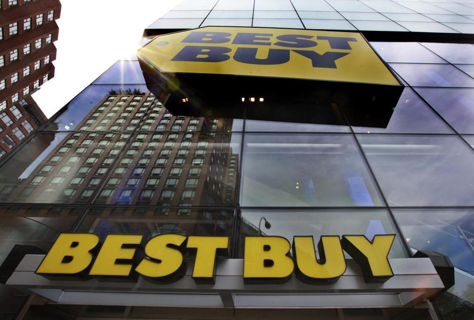 Shares of Best Buy, the world's largest consumer-electronics retailer, had fallen 35 percent this year through Friday. The company had a $1.2 billion net loss in its latest fiscal year.
