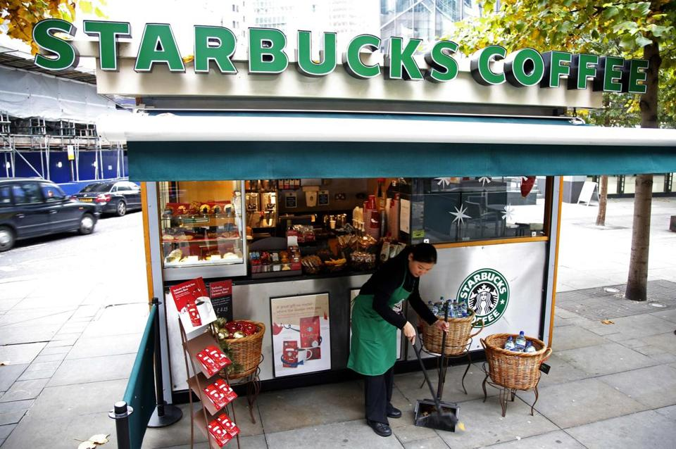 Starbucks global chief financial officer told UK lawmakers that his company was not trying to minimize its taxes.