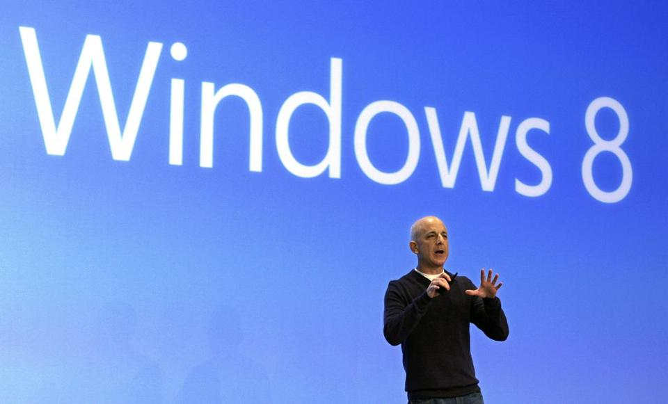 Microsoft did not elaborate on the reasons behind the departure of Windows head Steven Sinofsky but observers pointed to tensions with chief executive Steve Ballmer.