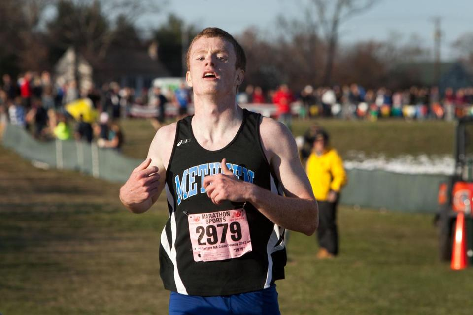 Mike O'Donnell of Methuen dominated the Eastern Mass. cross-country scene.