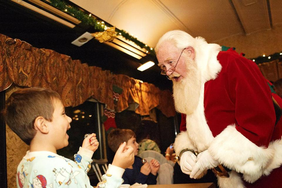 The Polar Express (operated by Cape Cod Central Railroad).