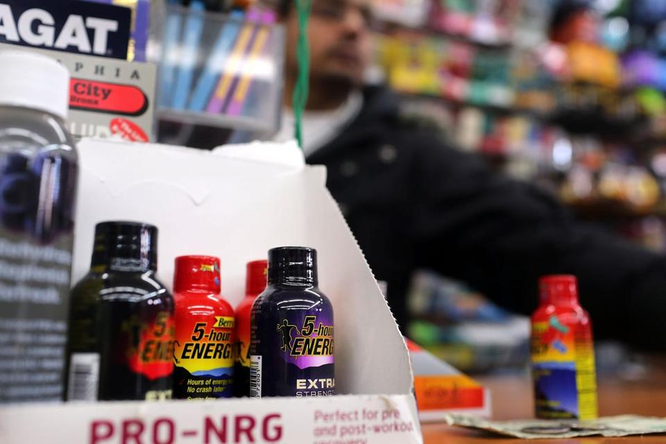 Federal officials want to determine if there is a link between so-called energy shots and reports of 13 deaths.
