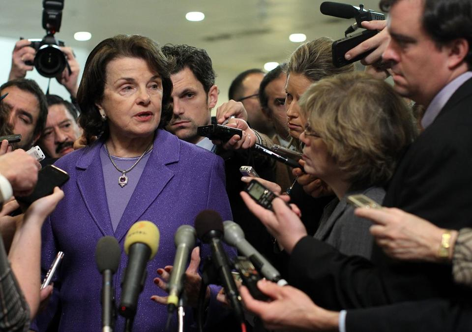 Dianne Feinstein (left) defended Ambassador Susan Rice, who used talking points without references to terrorists. John McCain's effort for more investigation was rejected.