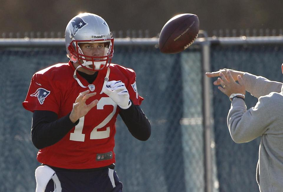 Tom Brady and the Patriots will host the Colts on Sunday.