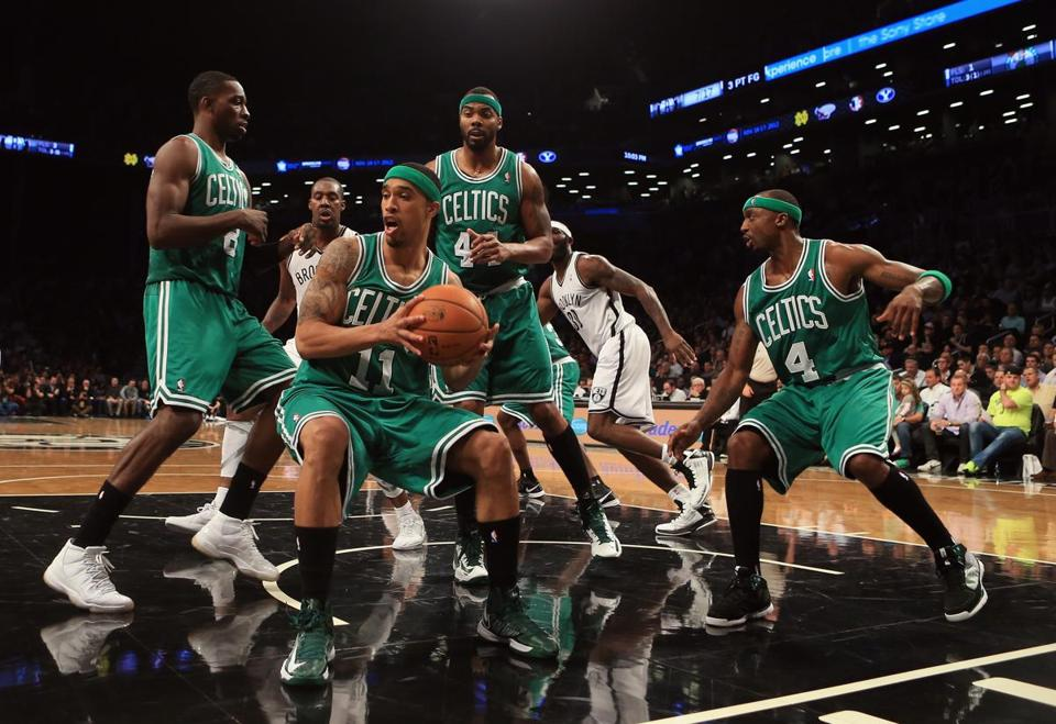 The Celtics lost 102-97 in Brooklyn on Nov. 15.