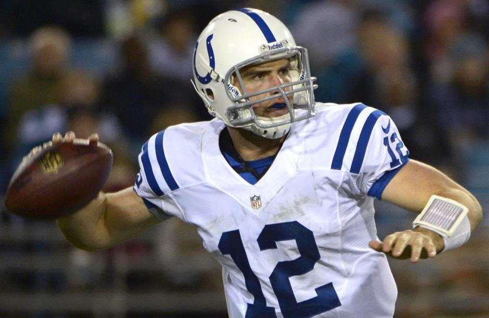 Andrew Luck's numbers for the 6-3 Colts aren't stellar, but his command of the game is impressive.
