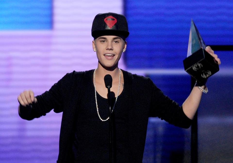 Justin Bieber's wins included the show's top award, artist of the year.