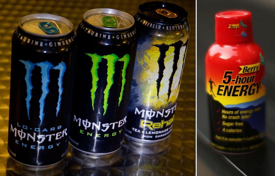 Reports released last week by the US Food and Drug Administration bring to 13 the number of deaths possibly connected to two popular brands of the drink, Monster Energy and 5-Hour Energy, since 2009.
