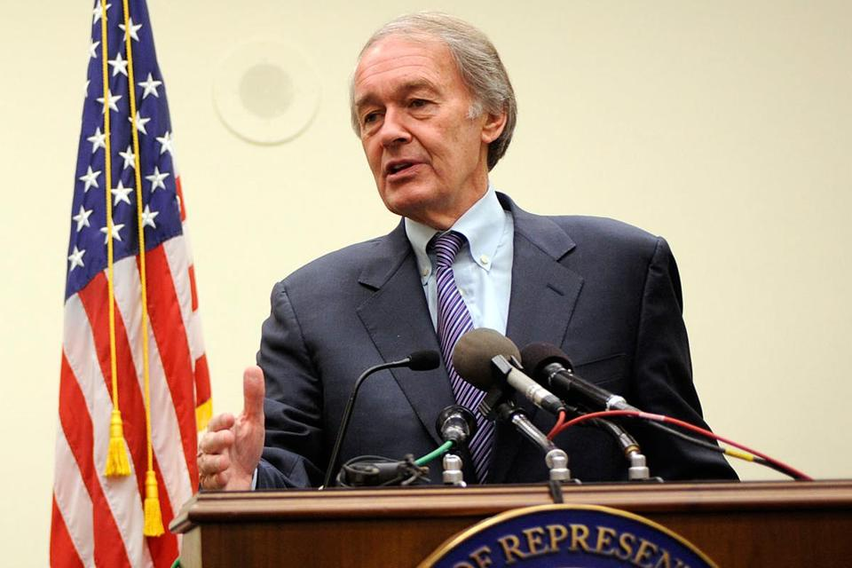 Sandy's cost will spark federal action to deal with global warming, US Representative Ed Markey said.