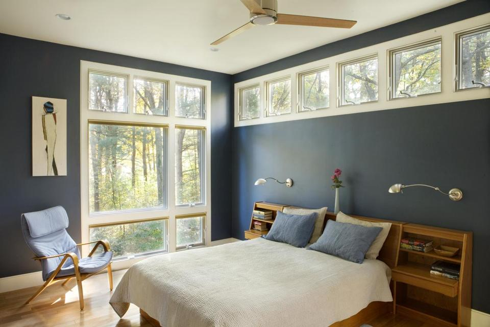Homeowners are letting go of safe beige and trying gray-blues (and other colors) on their walls.