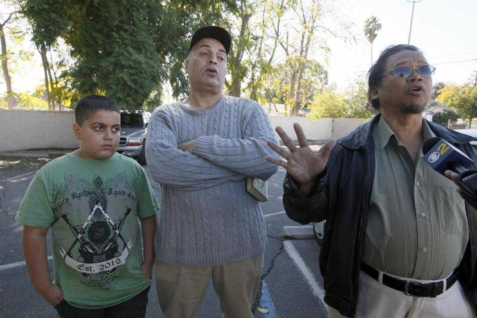 Pomona, Calif., residents talked about their neighbor, Sohiel Omar Kabir, who was arrested in a terrorism plot.