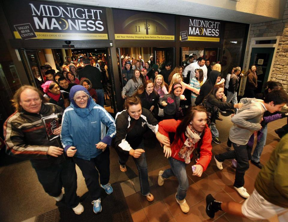 Black Friday ''is certainly not dead,'' said the National Retail Federation's chief, but ''it's starting to spread out.''