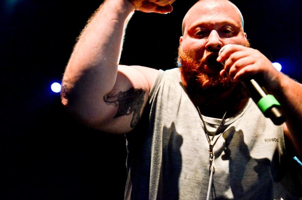 """I try and progress every time I do music, every time I do a verse,'' says Action Bronson, a rapper and professional chef."