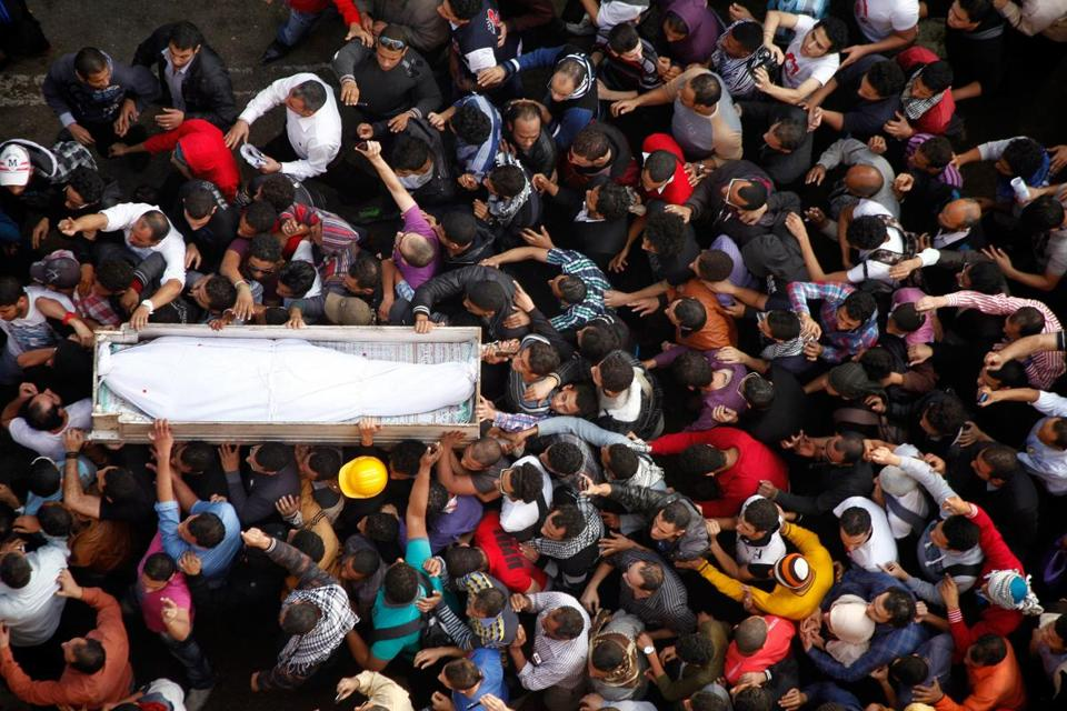 Activists on Monday mourned an activist who died after being hurt in clashes near Cairo's Tahrir Square last week.