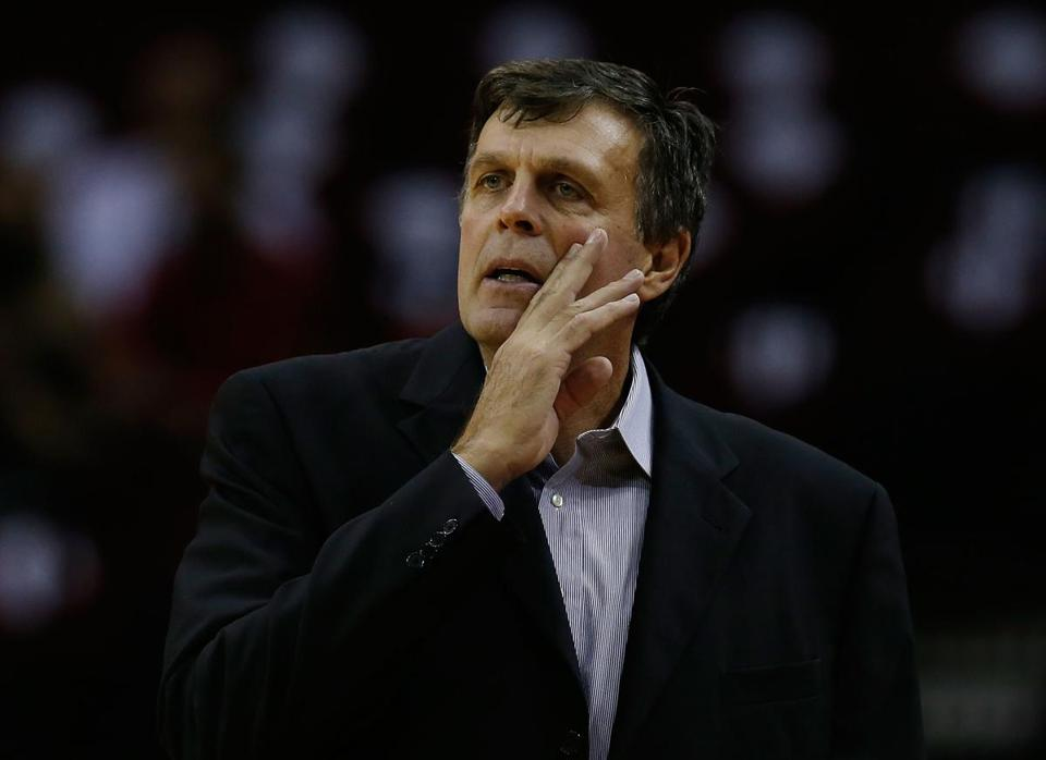 Kevin McHale has been on leave since Nov. 10 to deal with what the team called a personal family matter.