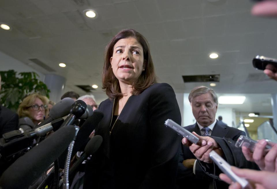 Senator Kelly Ayotte said Susan Rice's account went beyond talking points.