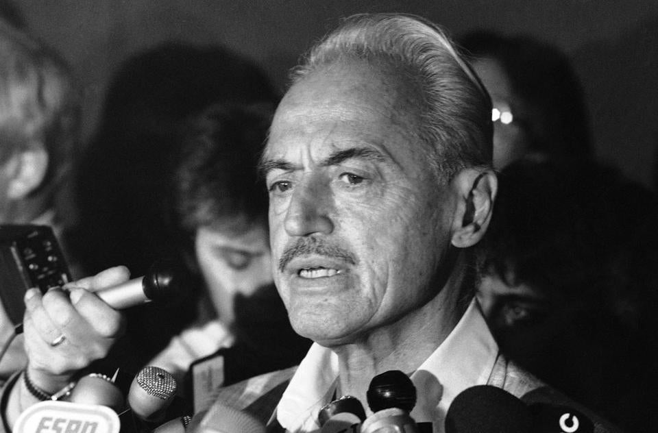 Marvin Miller, shown in 1981, was a transformative figure in baseball history.