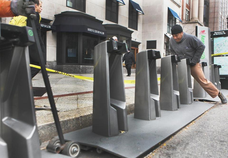 Since Boston's Hubway program was launched in 2011, the network of stations has grown dramatically.
