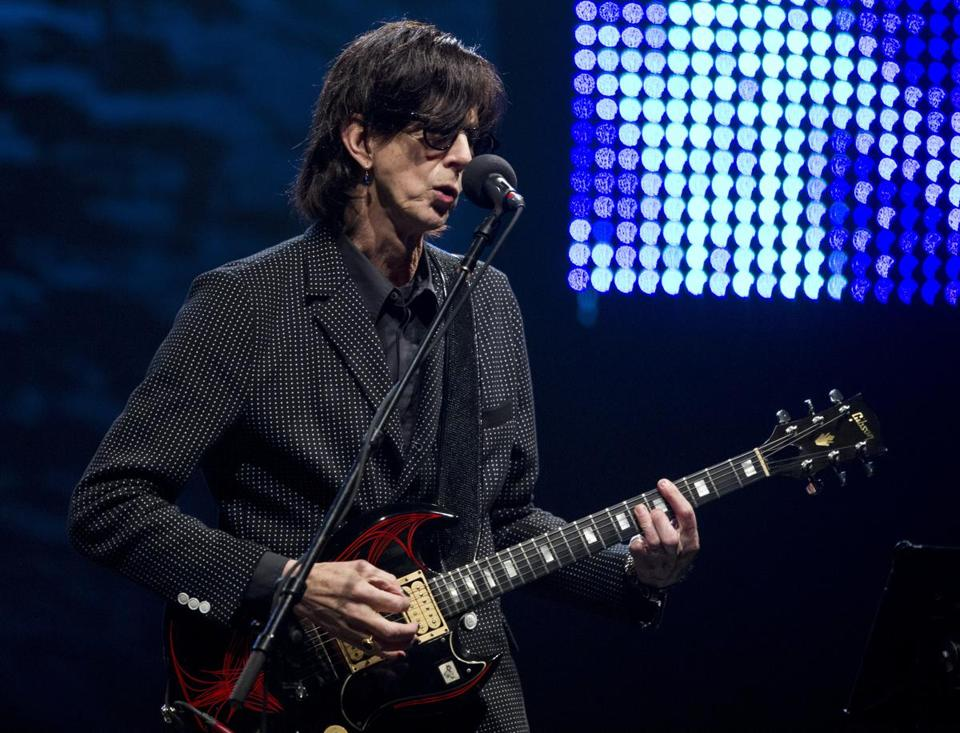 Ric Ocasek (pictured at the House of Blues in May 2011) wrote lyrics that, like a lot of rock 'n' roll songs written by men, are preoccupied with the opposite sex.