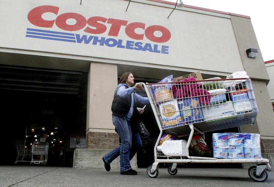 Costco said the hurricane cut 0.5 percent from sales at stores open at least a year.