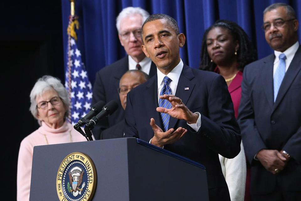President Obama spoke about extending tax cuts for middle class people on Wednesday.
