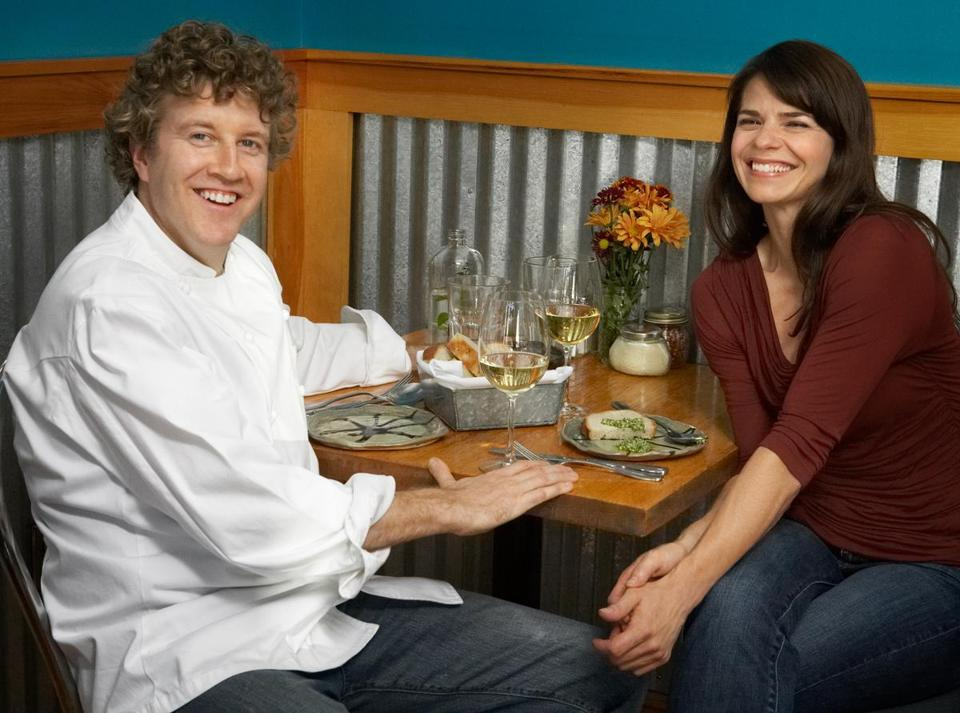 Sweet Basil's Dave Becker and his photographer girlfriend, Nina Gallant, have collaborated on two cookbooks.