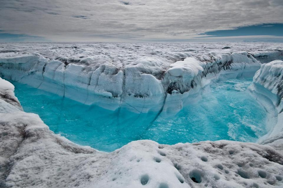 While the amount of sea level rise isn't as bad as some earlier worst case scenarios, the acceleration of the melting, especially in Greenland, has ice scientists worried.