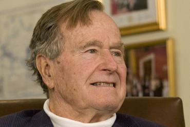 Former President George H.W. Bush has been in and out of the hospital recently for complications resulting from bronchitis, Methodist Hospital said in a brief statement.