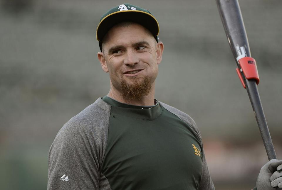 The Red Sox are penciling in recent acquisition Jonny Gomes as their left fielder
