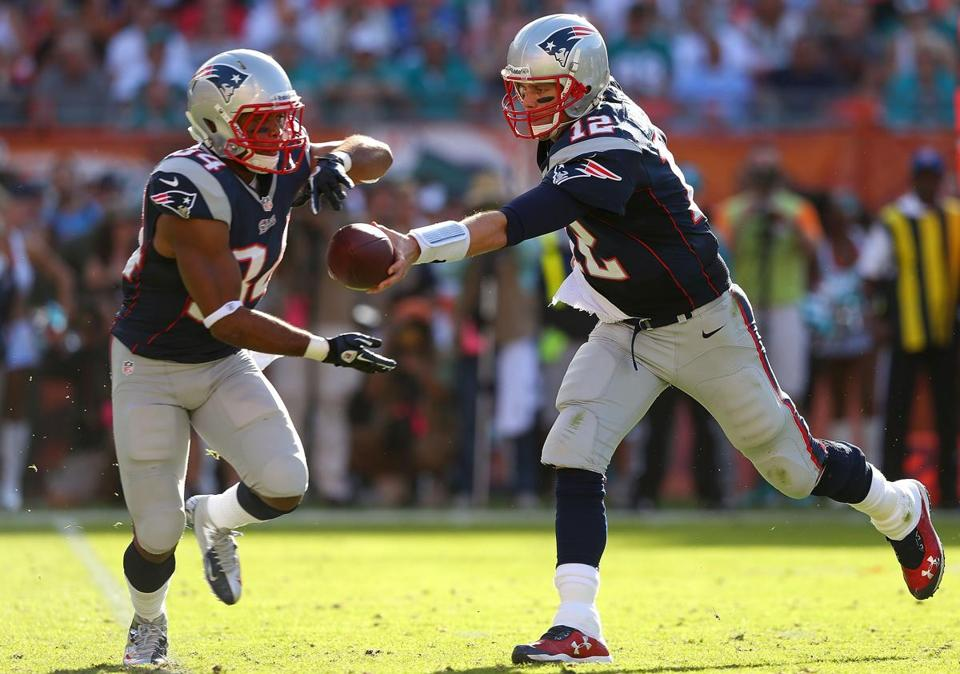 There were probably a few fans scratching their heads as to why the Patriots would throw so much since their running game, with Stevan Ridley and Shane Vereen, has been much improved this season.