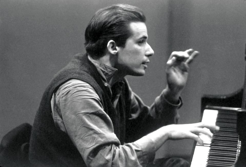 Canadian pianist Glenn Gould (in an undated photo) first recorded Bach's Goldberg Variations in 1955.