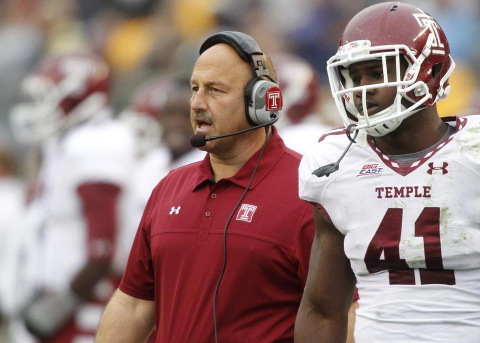 Temple was the first head-coaching opportunity for Steve Addazio, who was 51 when he was hired.