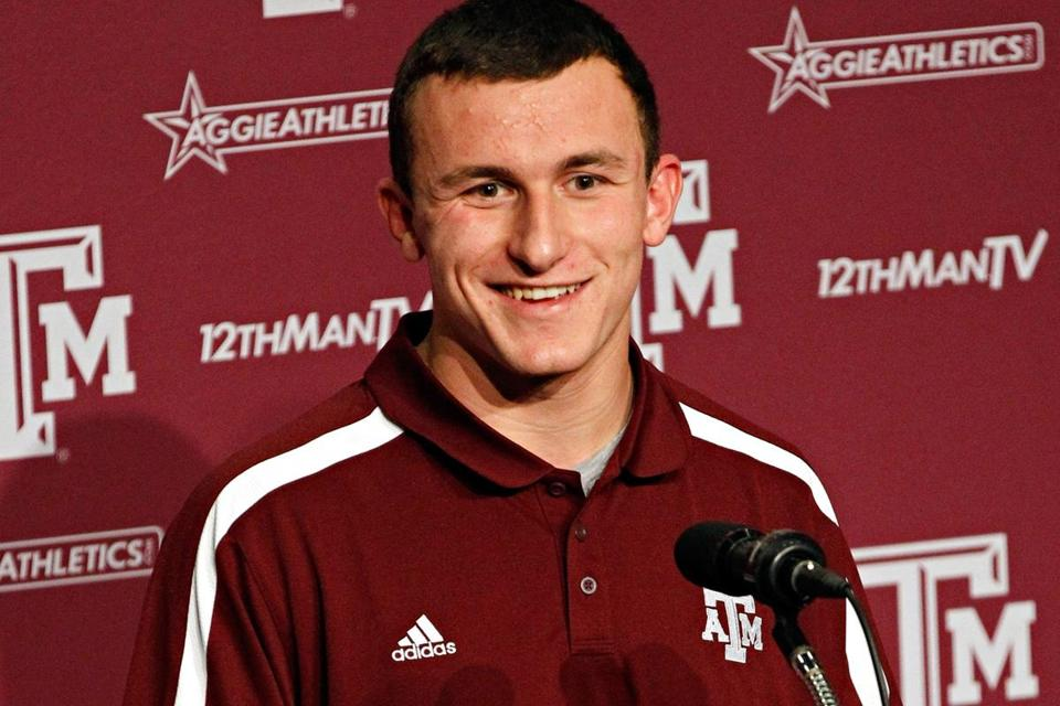 Texas A&M QB Johnny Manziel is the favorite to win college football's most famous award.