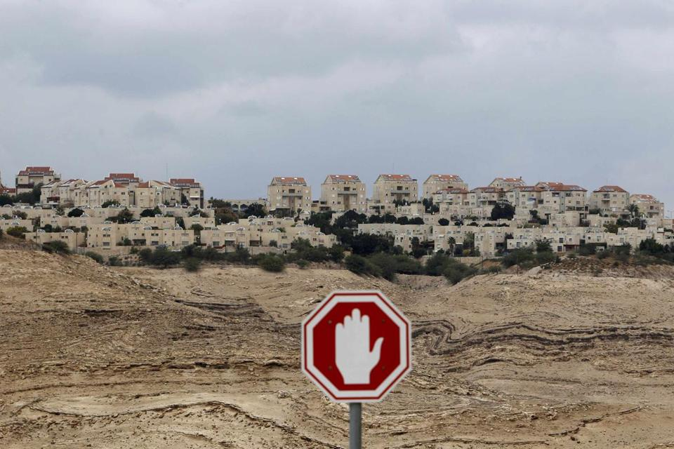 Maale Adumim, a Jewish settle-ment on the West Bank, is on one end of the E1 corridor where Israel has announced plans to build some 3,000 homes for settlers. The corridor lies between the settlement and East Jerusalem.