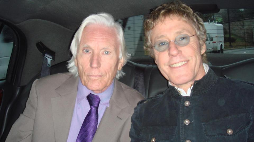 Chris Stamp and Roger Daltrey at the Kennedy Center Awards in 2008.