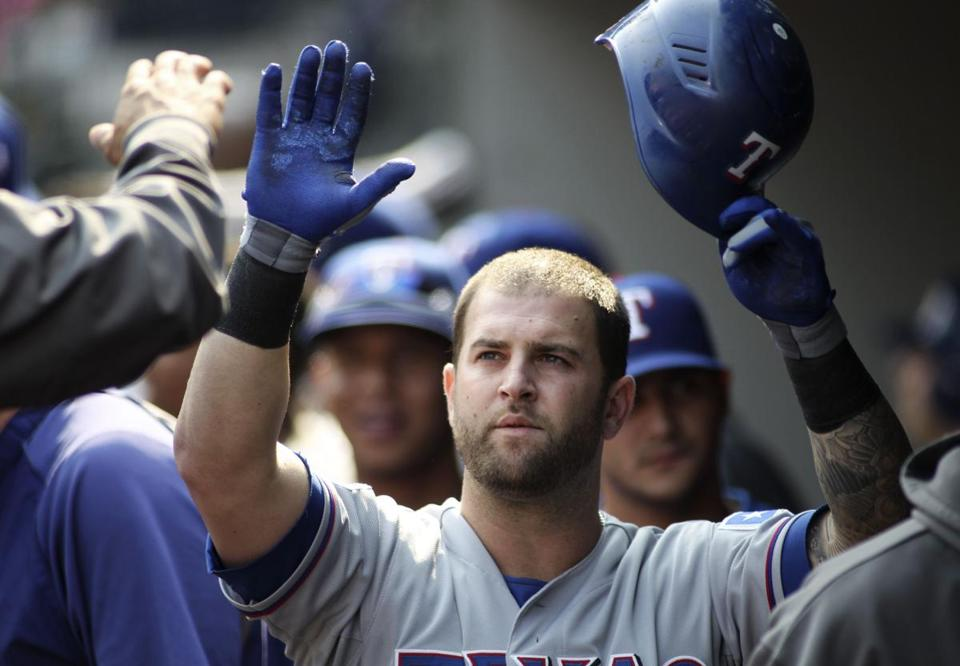 The fiscal cliff factored in Mike Napoli's contract talks with the Red Sox.