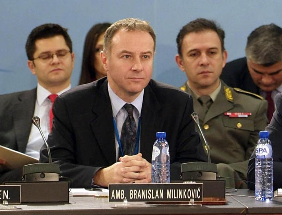 Branislav Milinkovic was outgoing, had a warm sense of humor, and kept good ties with other ambassadors.