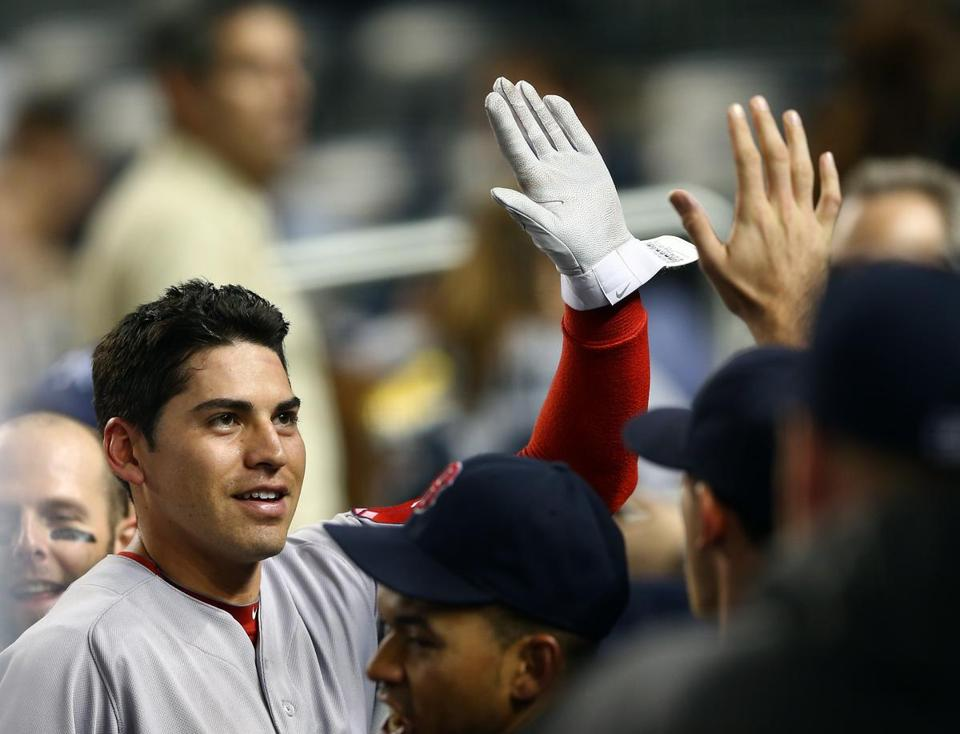 Jacoby Ellsbury is entering the last year of his contract with the Red Sox.