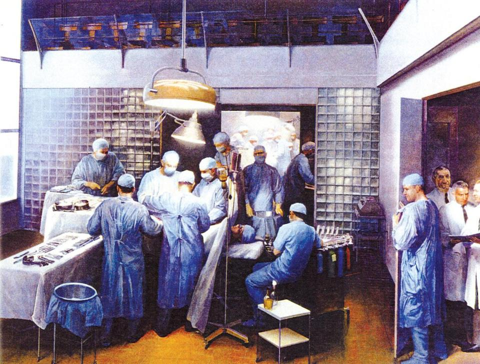 """The First Successful Kidney Transplantation,"" by Joel Babb"