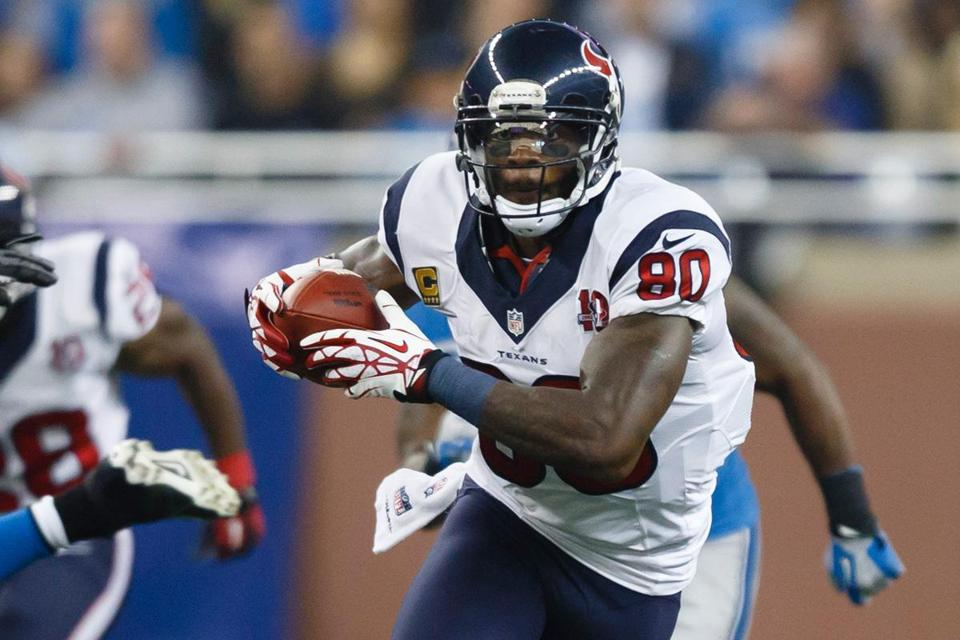 Texans receiver Andre Johnson, a 10-year veteran, is seemingly getting better as the season goes on.