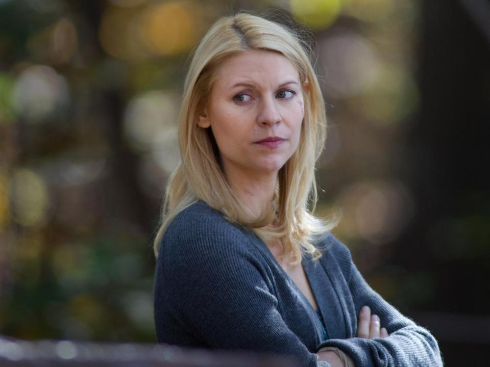 "Claire Danes and Damian Lewis won Emmys for their lead roles in the first season of ""Homeland,"" Emmy winner for best drama. Season 2 concludes Sunday."